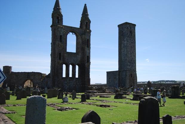 I resti della Cattedrale di St. Andrew