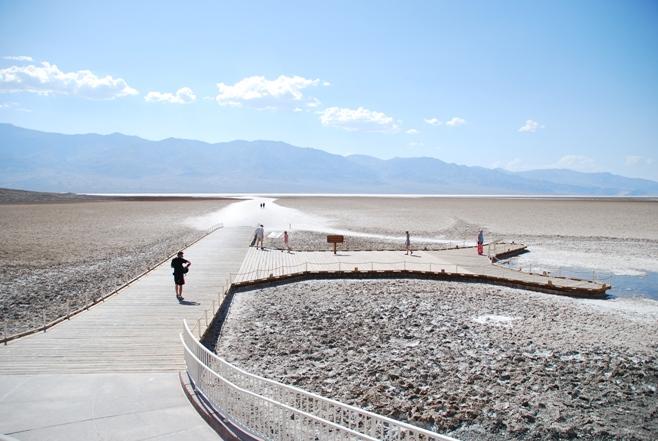Il Lago Salato nella Death Valley
