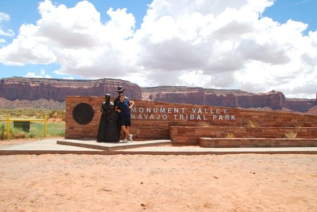 L'ingresso della Monument Valley