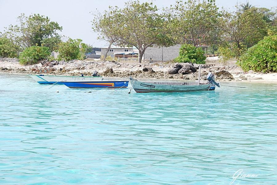 Gita all'isola di Dhiffushi