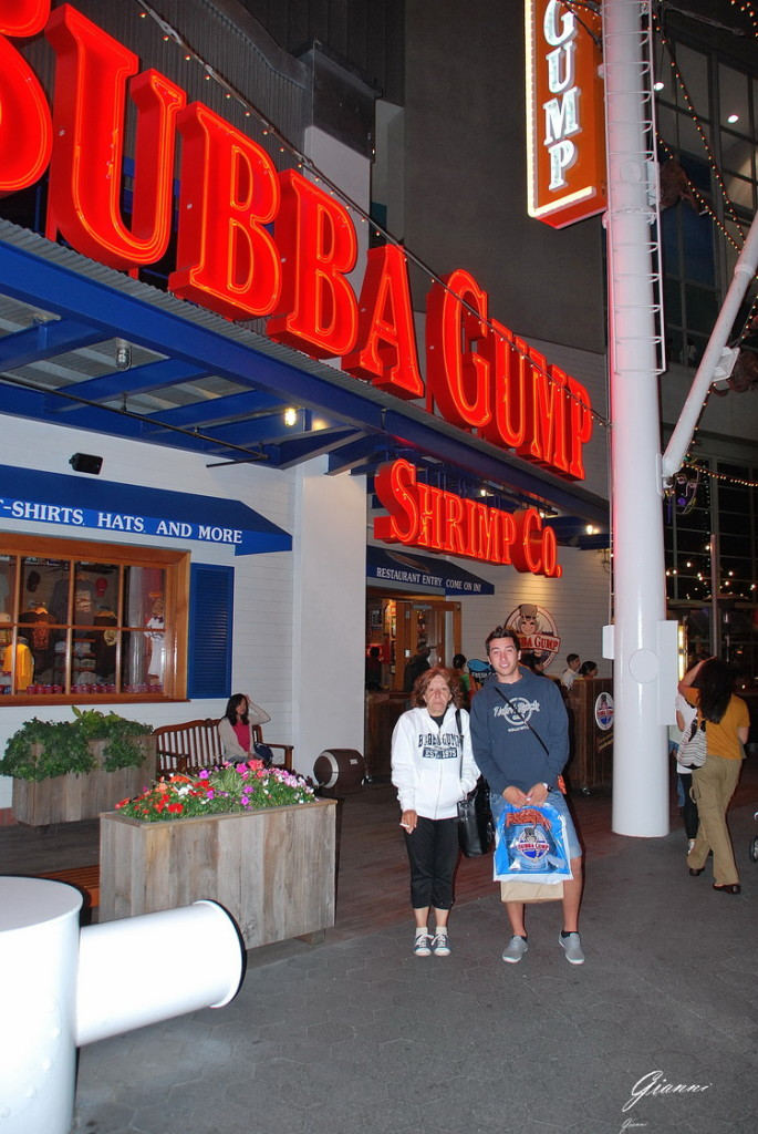 Los Angeles California -The Bubba Gump
