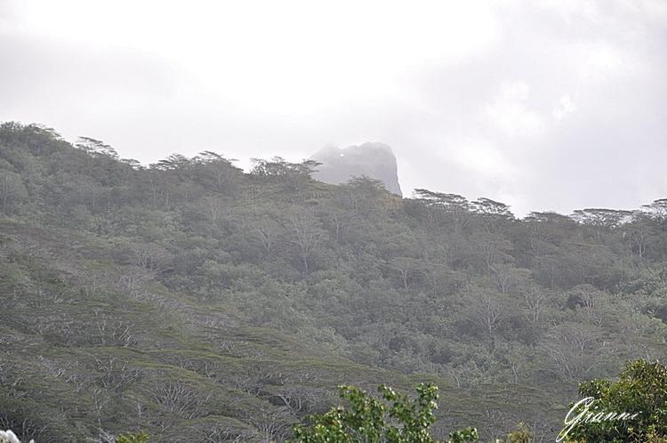 La montagna forata