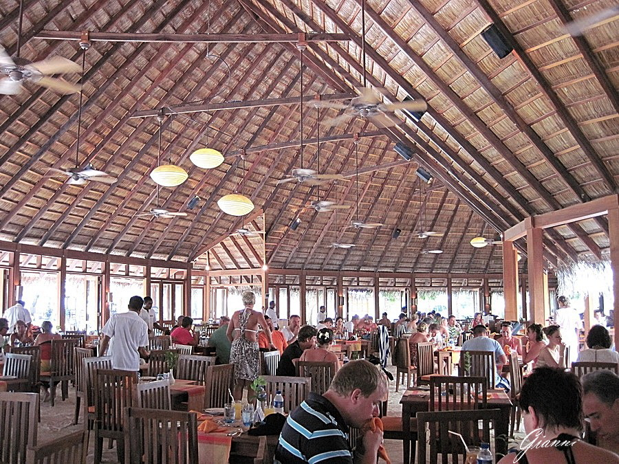 Meeru Island Resort - Il ristorante