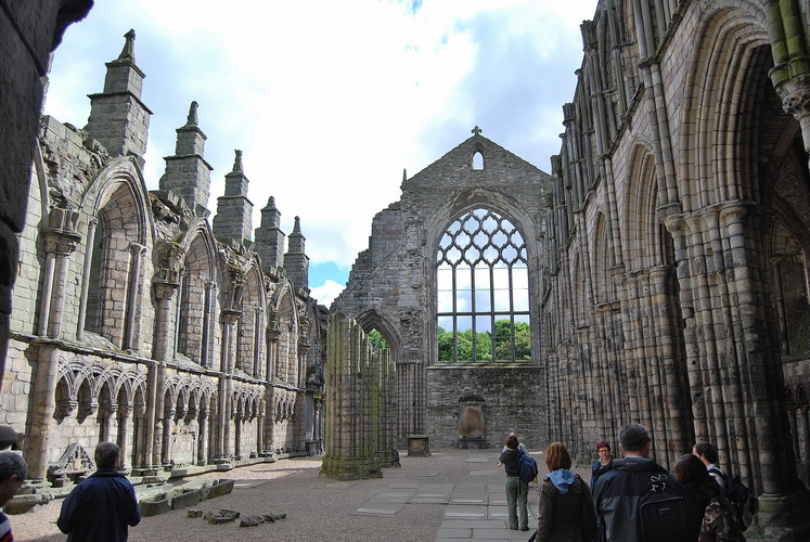 Scozia - Holyrood Palace