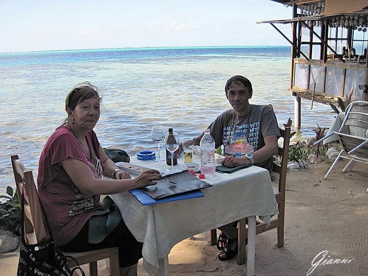 Pranzo in riva al mare....