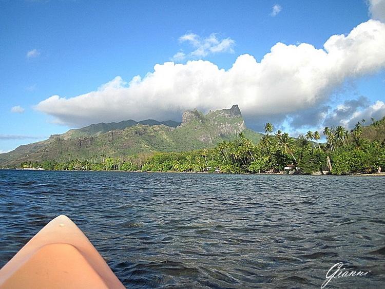 Monti dalla canoa