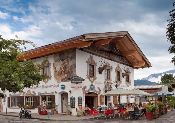 Un locale caratteristico a Garmisch