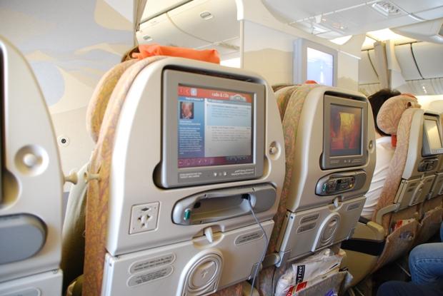 L'aereo della Emirates