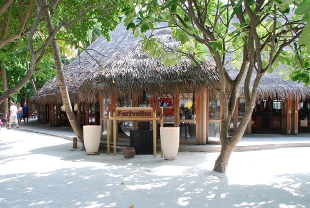 Il ristorante Farivalhu