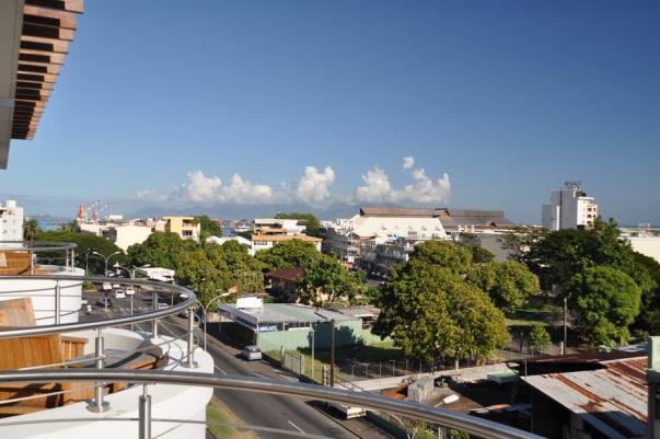 Panorama dal nostro albergo