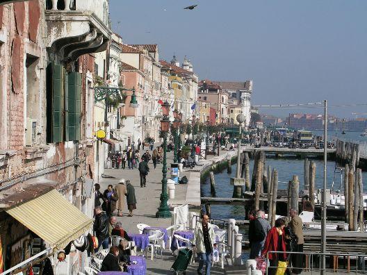 Venezia, Le Zattere