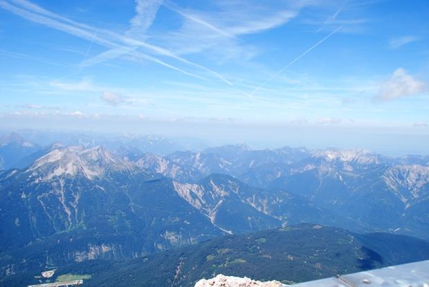 Il cielo sullo Zugspitz