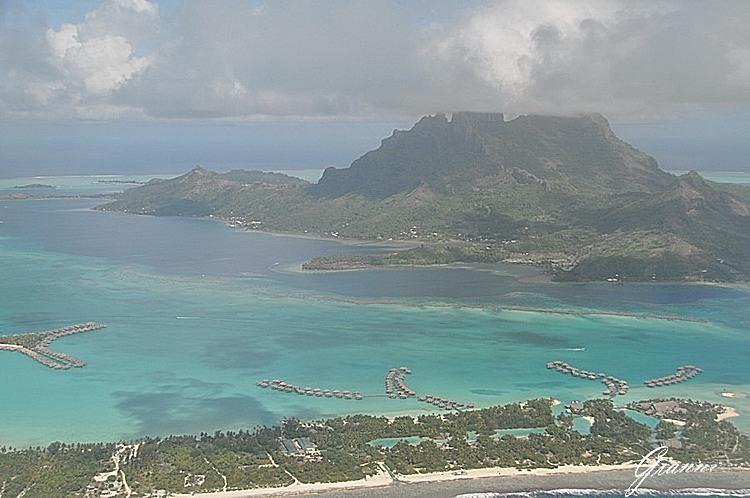 Polinesia - Il monte Otemanu