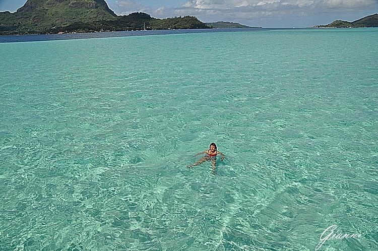 Polinesia - La laguna