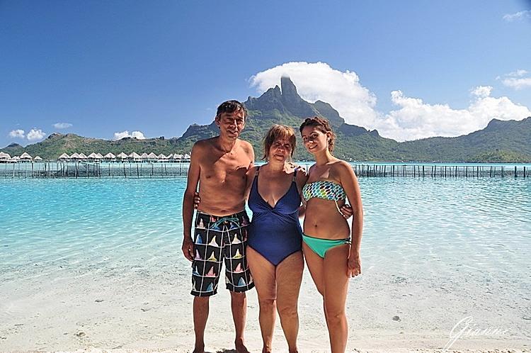 Giulia, Teresa e Gianni.
