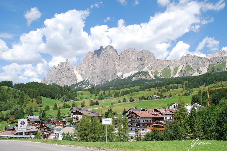 Le montagne intorno a Cortina d'Ampezzo