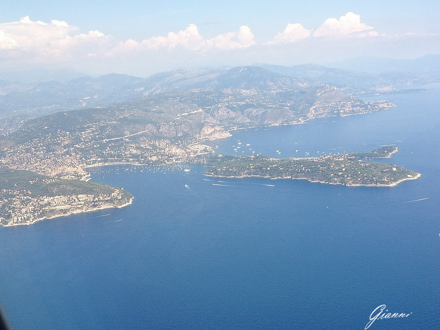 In volo da Nizza - Villefranche sur Mer e Cap Ferrat