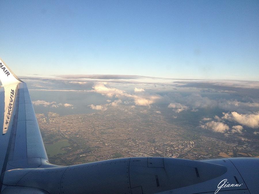 Dublino dall'alto