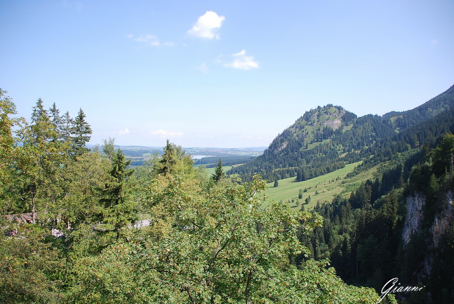 Panorama dal Castello di Neuschwanstein