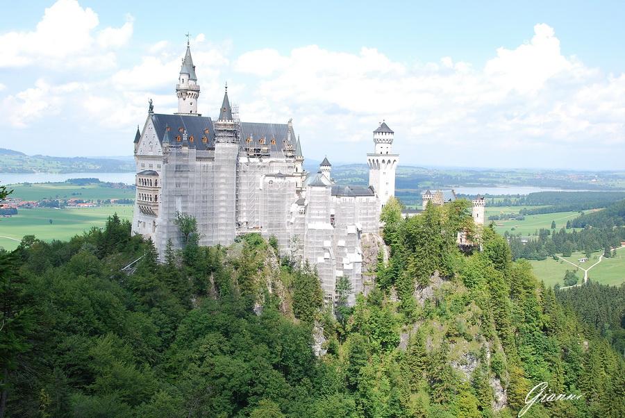 Castello di Neuschwanstein - Lavori in corso...