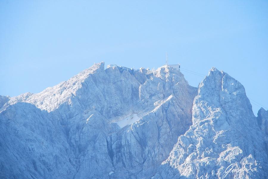 Zugspitz visto da Garmisch-Partenkirchen