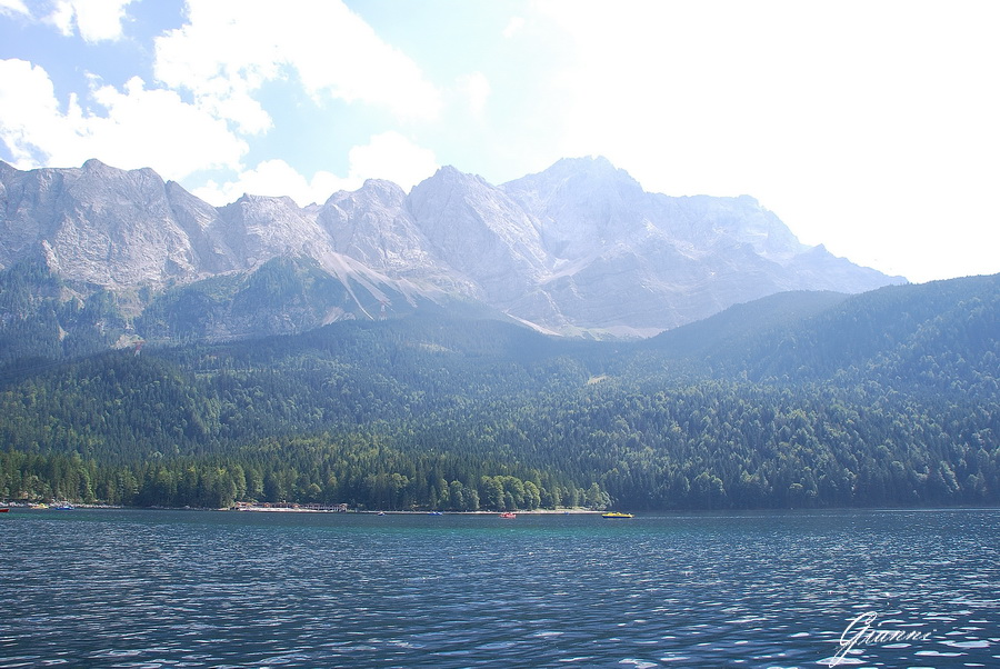 il lago Eibsee