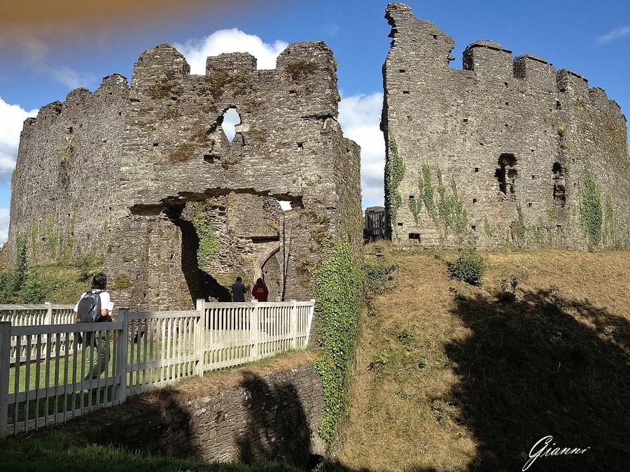 L'ingresso del Castello di Restormel