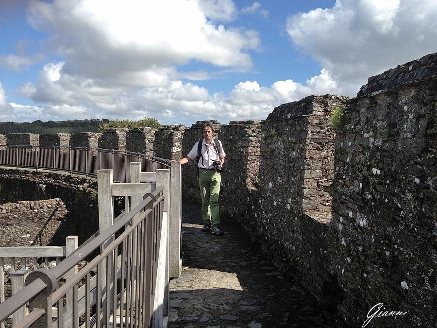 Sugli spalti del Castello di Restormel