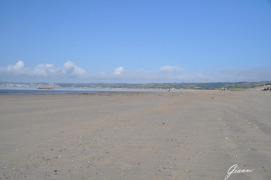 La spiaggia di Marazion