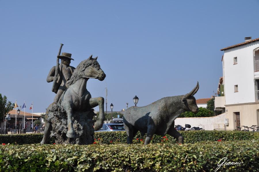 Saintes Maries de la Mer - Statua di bronzo