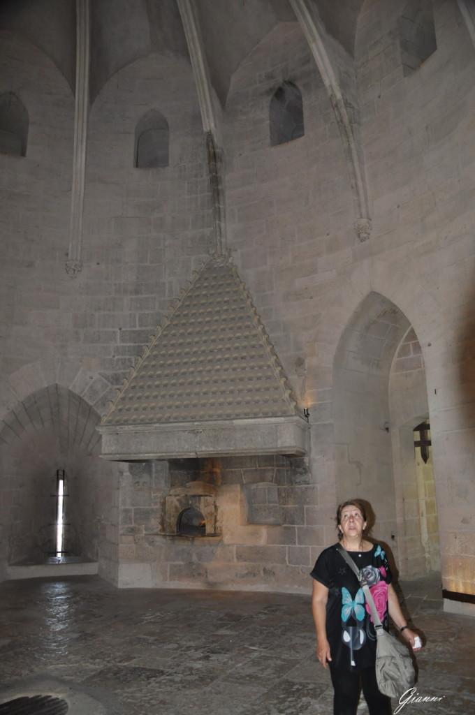 Interno della torre di Costanza