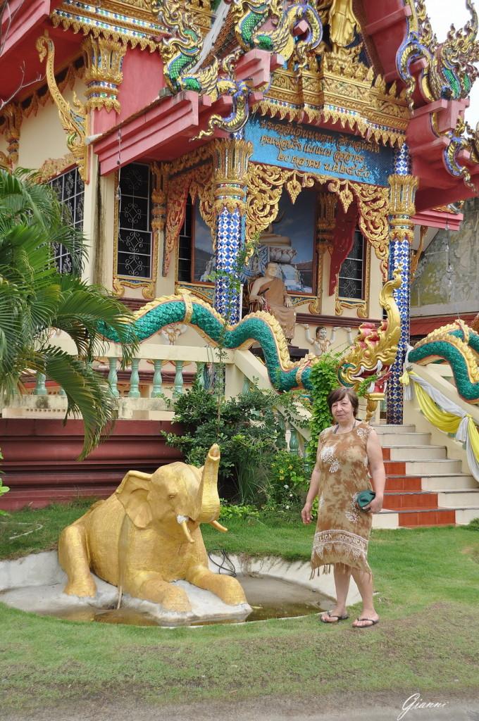 Elefante dorato