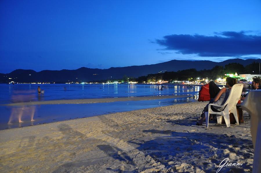 La spiaggia dopo il tramonto
