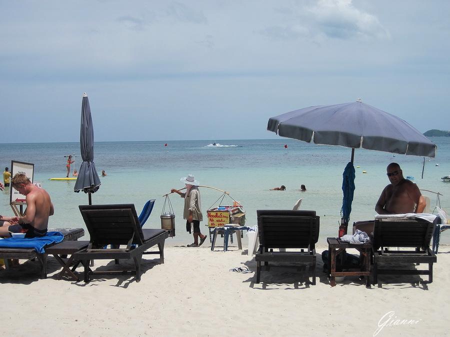 Ambulanti in spiaggia