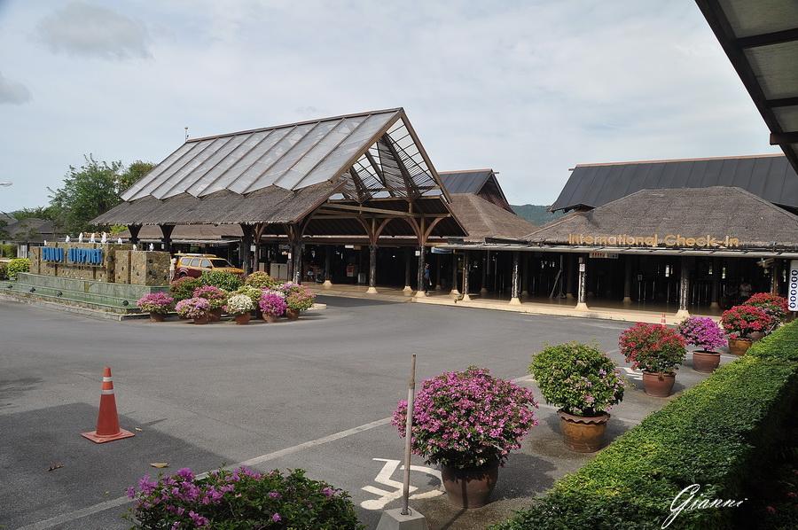 Tahilandia - Koh Samui - L'aeroporto