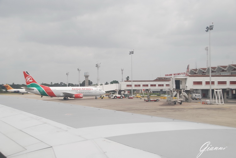 Kenya - Aeroporto di Mombasa