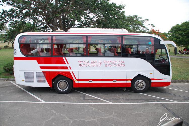 Aeroporto di Mombasa - La navetta per il resort