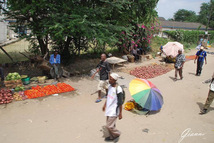 Kenya - Mercato a Mombasa