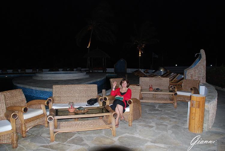 Aperitivo al Twiga Beach Resort