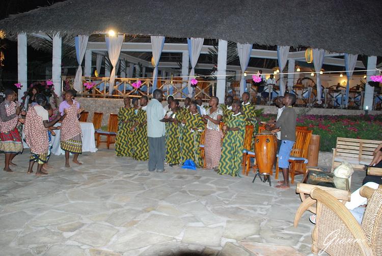 Twiga Beach Resort Watamu - Messa di Natale