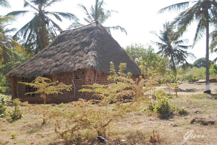 Casa di fango vicino a Malindi