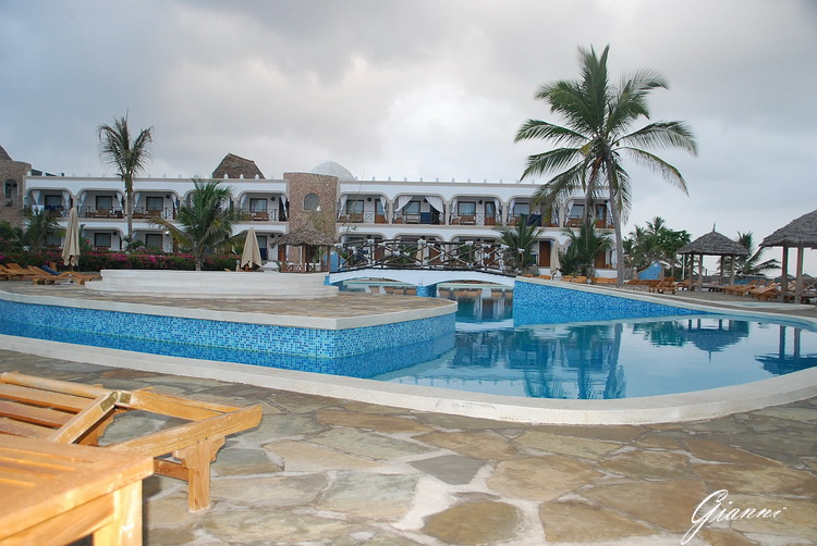 La piscina del Twiga Beach Resort