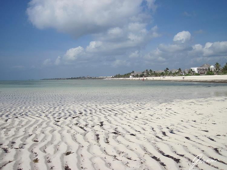 La spiaggia di Watamu