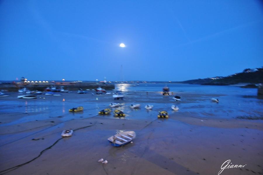 Il porto di Saint Ives - Bassa marea