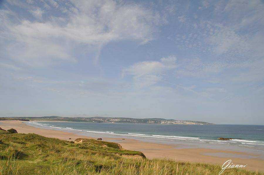 La spiaggia di Carbis Bay