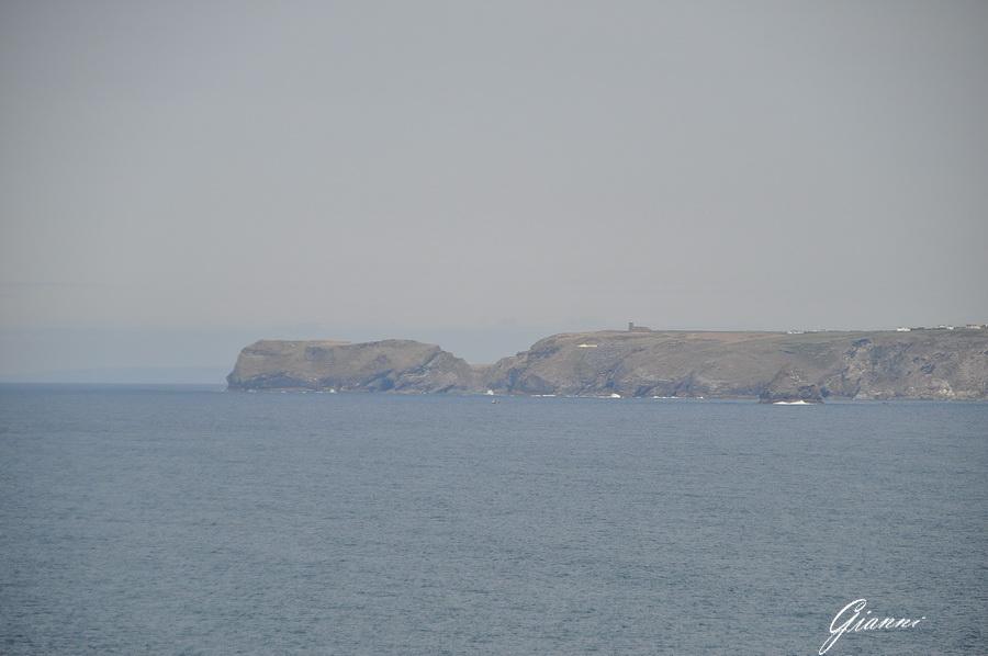 Tintagel visto da Port Isaac