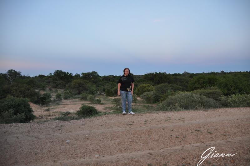 Turista al tramonto - Vuyani Safari Lodge