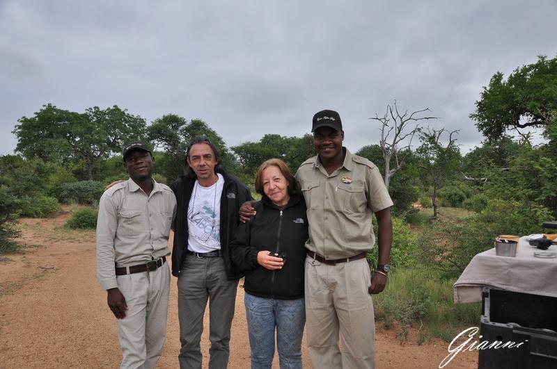 Teresa, Gianni e le nostre guide