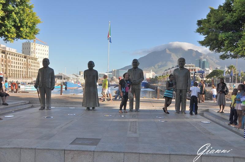 I quattro grandi uomini: Luthuli, Tutu, De Klerk e Mandela