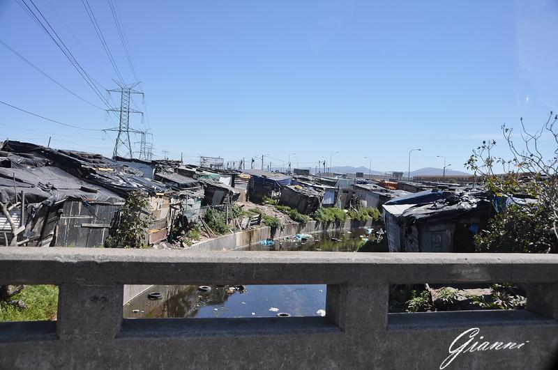Cape Town - Una bidonville